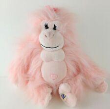 "Plush Ganz Webkinz Pink GLAMOROUS GORILLA 9"" Monkey HM477 No Code Stuffed Animal"