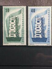 SCOTTS #748-749 1956 GERMANY STAMPS MNH