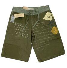 Ralph Lauren Denim + Supply USMC Souvenir Cotton Canvas Military Shorts 30 NWT