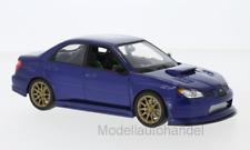 Subaru Impreza WRX STI, blau - 1:24 WELLY   *NEW*
