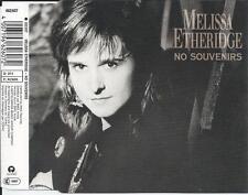 MELISSA ETHERIDGE - No Souvenirs CD SINGLE 3TR GERMANY PRINT 1989