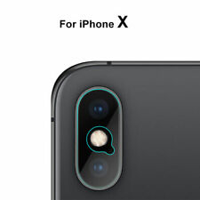 2 x  Apple iPhone X Rear Camera Lens Tempered Glass Protector Film