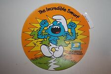 Hard to Find National Benzole Petrol Large Smurf Sticker UK Issue Only Schlumpfe