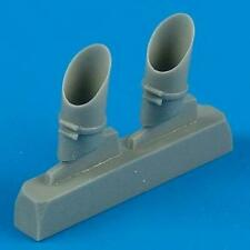 Quickboost 1:48 TBM-1/3 Avenger Exhaust for Accurate Miniature Kit #QB48-103
