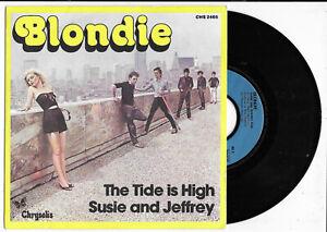 """Blondie - The tide is high 7"""" Vinyl-Single CHS 2465 France von 1980 mint"""
