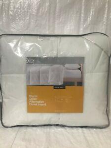 Made By Design- Warm Down Alternative Duvet Comforter Insert