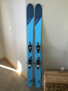 DPS Wailer 106 Tour 168cm Backcountry touring skis Fritchi Tecton 12 used 1 day