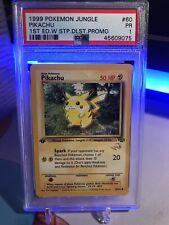 Pokemon Jungle Duelist First Edition Promo Pikachu PSA 1(POP 1)