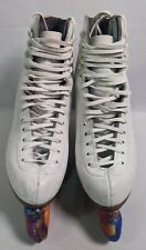 Vintage Riedell Red Wings Ice Figure Skates Sz 6/6.5 Womens