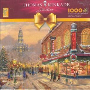 Thomas Kinkade 1000 Pc Jigsaw Puzzle A Christmas Wish NIB