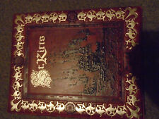 St. Kitts album 1.4 kg 18 used pages with u/m sets and 34 unused printed pages