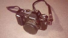 Vintage Camera Konica FS-1 Hexanon AR  40/1.8 f1.8 lens japan