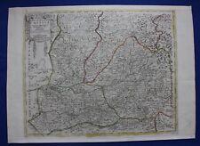 "Original Antiguo Mapa España, España, Castilla, ""Antigua & Castilla Nueva"", senex, c.1730"