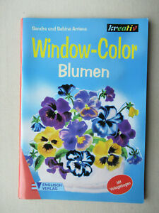 Bastelbuch: Window-Color - Blumen