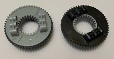 *NEW* Lot of 2 Lego Technic TURNTABLE LARGE PART 2 Black & Gray 48452 48168