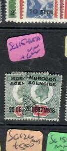 MOROCCO AGENCIES  (P2705B)  KE  20C  SG 115-15A      VFU
