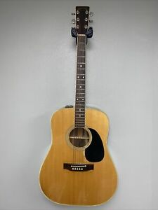 Takamine EF-375S Acoustic Electric Dreadnought Guitar .