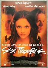 Dossier de Presse SEX TROUBLE Tangled RACHAEL LEIGH COOK  *e