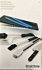 Broil King Porta-Koch Cooking Cookout BBQ Barbecue Tool Set-Brandneu in Box