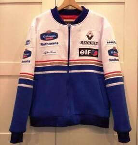 Bomber jacket collectible 1994 Ayrton Senna / Williams Renault