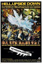 THE POSEIDON ADVENTURE classic movie poster GENE HACKMAN tidal wave 24X36