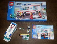 LEGO® Krankenwagen  Set 4431 mit Minifiguren und Verkaufskarton !