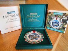 Longaberger Ornament Caroling in Dresden Club 1997 Christmas *free shipping!*