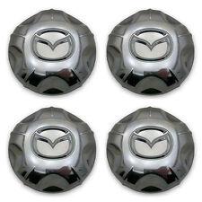 "SET OF 4- OEM 01-04 Mazda Tribute YL84-1A096 16"" 6 Spoke Wheel Center Cap Hubcap"