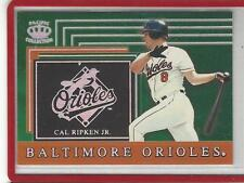 1999 Pacific Crown Collection Team Checklist Cal Ripken #4 Orioles