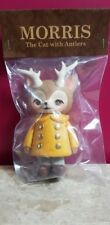 Morris The Cat With Antlers Kaori Hinata yellow Coat Sofubi Figure Japan