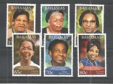 Bahamas 2012 para mujer sufragio SG, 1629-1634 U/M nh Lote 515A