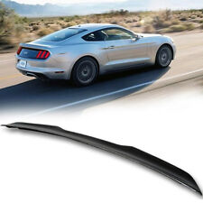 Carbon For Ford Mustang V6 6th Ecoboost V-Style Trunk Spoiler 15-19 Coupe