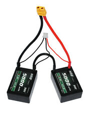 RC Car Lipo Battery 2S 7.4V 5000mah 30C ROAR B44 T XT60 EC5 TRX 4MM HELICOPTER