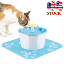 New Pet Water Fountain Electric Water Dispenser For Cat Dog Automatic 3 Modes