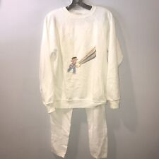 Vintage 80s Sesame Street Sweater And Pants Ernie Sweater Very Rare Mens Medium