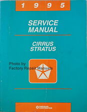 1995 Chrysler Cirrus Dodge Stratus Factory Service Manual Original Shop Repair