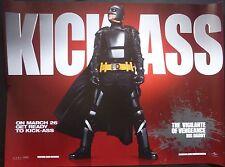 KICK ASS  ORIGINAL CINEMA 2010 QUAD POSTER NICOLAS CAGE BIG DADDY