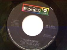 """GRASS ROOTS """"HEAVEN KNOWS / DON'T REMIND ME"""" 45"""