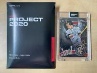 TOPPS PROJECT 2020 #51 MIKE TROUT 2011 TOPPS UPDATE by Ben Baller FAST SHIP