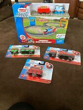Brand New Thomas and Friends Trackmaster Push Along Railway + 3 Cars