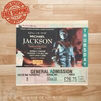 Michael Jackson History Tour Concert Ticket Stub July 17th 1997 Wembley stadium