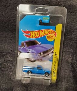 Hot Wheels Blue Datsun 620 Pickup Truck Kmart Exclusive With Protector