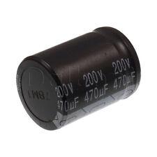 Original New Pecon Snap In Capacitor 200V 470UF 25X35mm 105