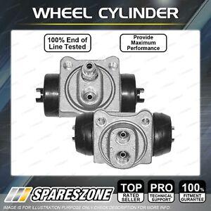 2 Rear Wheel Cylinders LH + RH for Suzuki LJ50 LJ80 LJ81 Sierra SJ40 SJ410 ST90