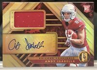 2019 Gold Standard Rookie Jersey Auto #238 Andy Isabella /99