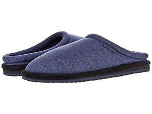 Man's Slippers L.L.Bean Sweater Fleece Slipper Scuff