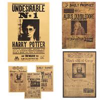 Harry Potter Affiche Barre Club Tous les Jours Prophet Mural Décoratif Peintures
