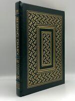 SIGNED 1ST EDITION Easton Press Beijing Diary CHARLTON HESTON Collectors Edition