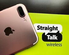 ROSE GOLD iPhone 7 PLUS 32GB (Straight Talk - AT&T) Apple Smartphone Bundle (A)