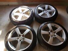 4x Mazda Alufelgen mit Reifen 225/45/R18  Winterreifen M+S